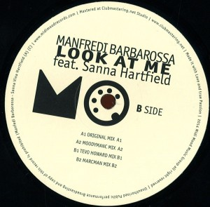 MIMO05 – Manfredi Barbarossa Ft. Sanna Hartfield – Look At Me (Vinyl Release)